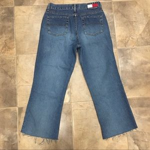 Tommy Hilfiger Wide Leg Cropped High Rise 29